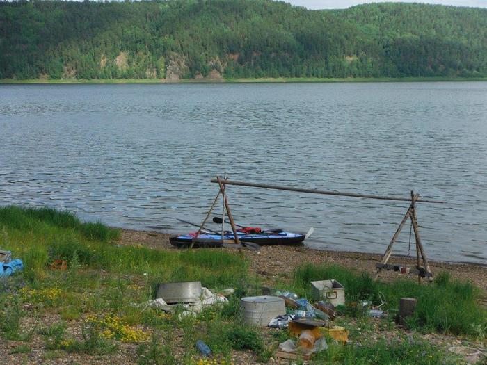 obóz nad Jenisej