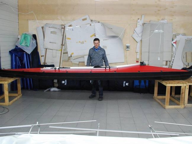 Fabryka kajaków składanych NERIS - od projektu do kajaka