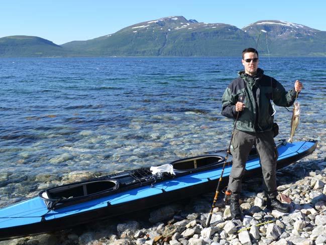 Kajak składany NERIS ALU3 - wyprawa w Norwegii.