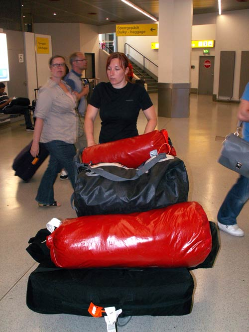 Z bagażami na lotniksu