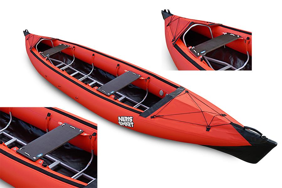 Siedzenia canoe Smart-2