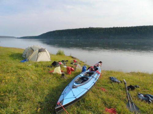 Ponad 500 km jedną z największych rzek Azji.