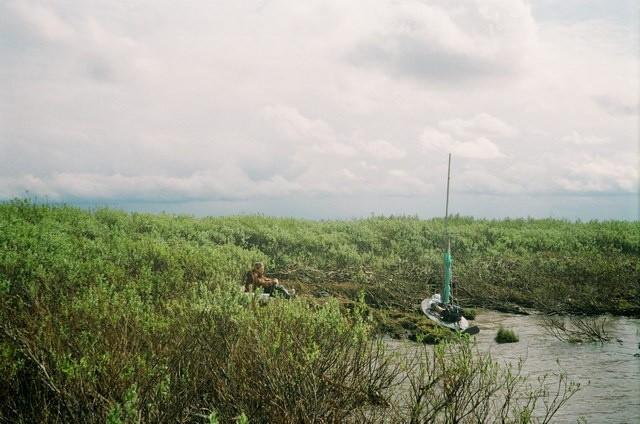 Kajak składany neris walkure-2 rzeka peczora