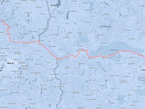Walkure-2 z Poznania aż do Wodnego Miasta