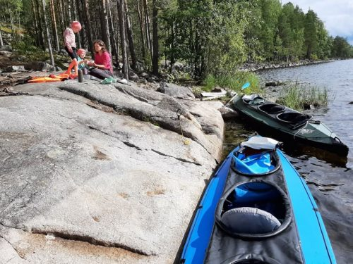 Kamperem do Kolovesi, Finlandia